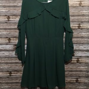 Peach Love Something Special Lizza Green Dress